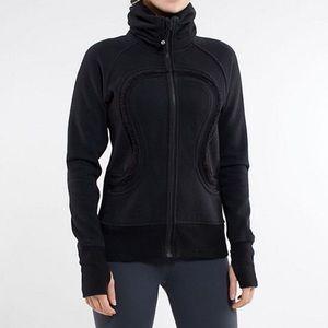Lululemon Cuddle Up Black Fitted Jacket 4 $118!!